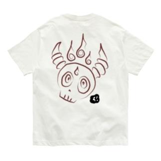 ★数量限定★ ほむらドクロ Organic Cotton T-shirts