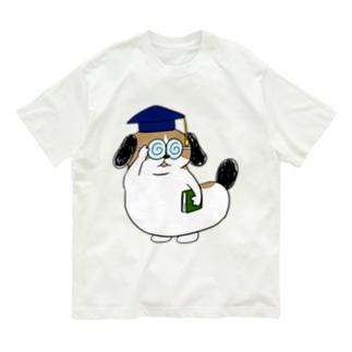 もじゃまる博士 Organic Cotton T-shirts
