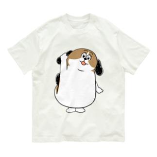 もじゃまるはーい! Organic Cotton T-shirts