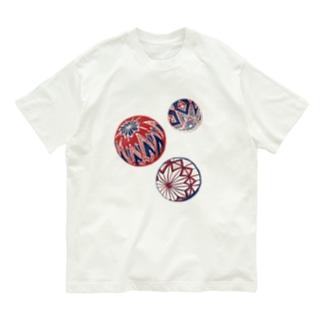 【日本レトロ#02】手まり Organic Cotton T-shirts