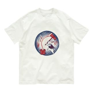 【日本レトロ#14】お月見兎 Organic Cotton T-shirts
