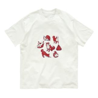 【日本レトロ#18】柴犬 Organic Cotton T-shirts