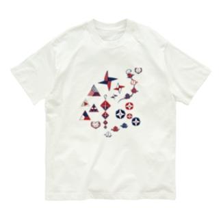 【日本レトロ#19】折り紙 Organic Cotton T-shirts