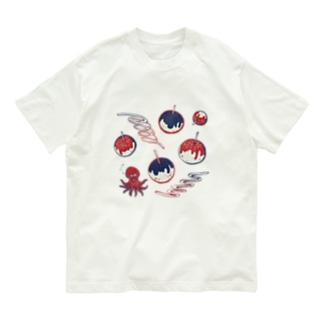 【日本レトロ#20】たこ焼き Organic Cotton T-shirts
