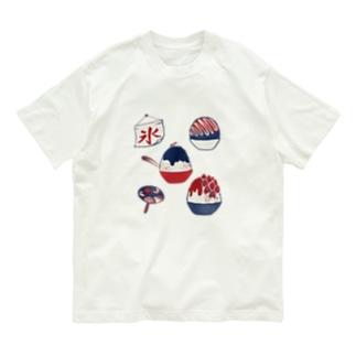 【日本レトロ#23】かき氷 Organic Cotton T-shirts