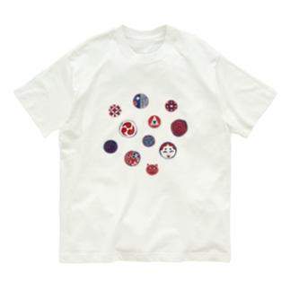 【日本レトロ#24】おはじき Organic Cotton T-shirts
