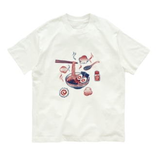 【日本レトロ#25】ラーメン Organic Cotton T-shirts