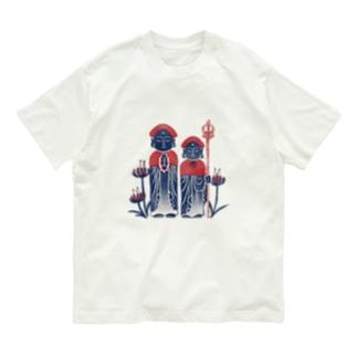 【日本レトロ#26】お地蔵様 Organic Cotton T-shirts