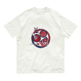 【日本レトロ#28】茶道 Organic Cotton T-shirts