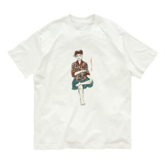 【バリの人々】おじいちゃん Organic Cotton T-Shirt