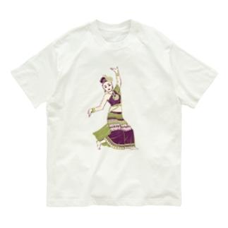 【タイの人々】伝統舞踊のダンサー Organic Cotton T-Shirt