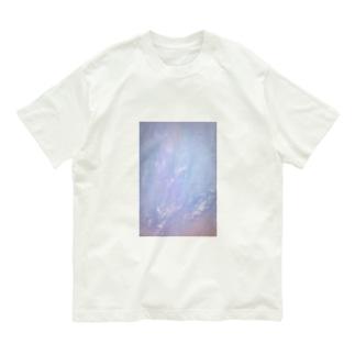 くしゃくしゃクリア Organic Cotton T-shirts
