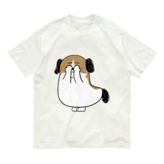 もじゃまる目隠し Organic Cotton T-shirts