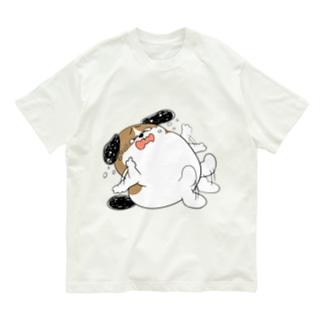 もじゃまるやだやだ Organic Cotton T-shirts