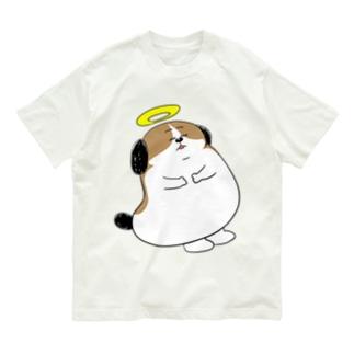 もじゃまる昇天 Organic Cotton T-shirts