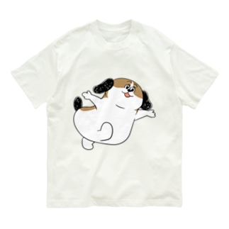 もじゃまるあそんで Organic Cotton T-shirts
