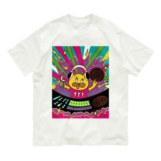 DJくまお Organic Cotton T-shirts
