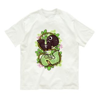 アケビコノハ Organic Cotton T-shirts