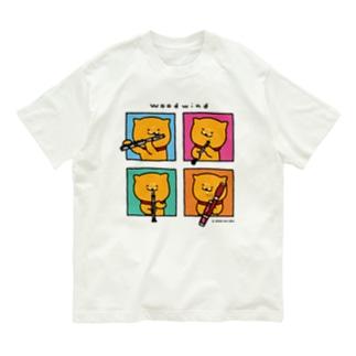 Tシャツ_窓ラク(木管) Organic Cotton T-Shirt