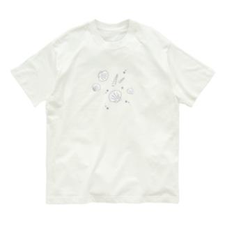 貝殻 Organic Cotton T-shirts