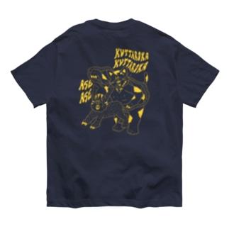 ワンコ vs  ニャンコ Organic Cotton T-shirts