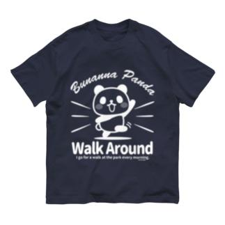 ぶなんなパンダ・散歩W Organic Cotton T-shirts
