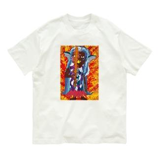 不動アマビエ Part-1 Organic Cotton T-shirts