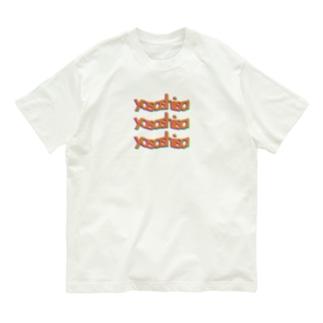 yasashisa 三連単 Organic Cotton T-shirts