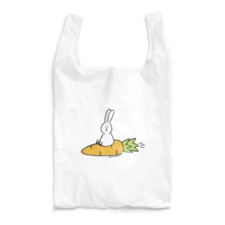 うささん(にんじんジェット) Reusable Bag