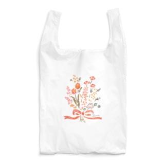 花束とうさぎ Reusable Bag