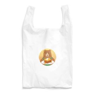 クマ店長のハニートースト Reusable Bag