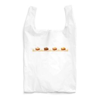 本日のハニートースト(ヨコ) Reusable Bag