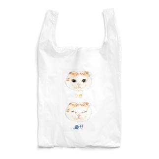 ON OFF CAT Reusable Bag