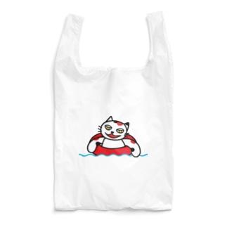 【前田デザイン室 ニャン-T プロジェクト】前田デザイン室 じゃみぃの夏 Reusable Bag