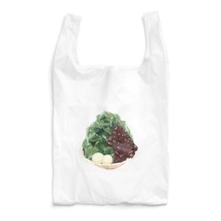宇治抹茶金時かき氷 Reusable Bag
