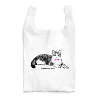 ネクタイ猫ちゃん Reusable Bag