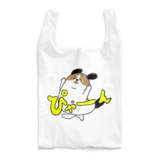 もじゃまるぴゃーん Reusable Bag