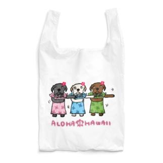 アロハ三姉妹ドッグ Reusable Bag