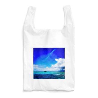 Paradise blue Reusable Bag