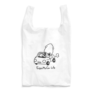 真イカのマイカー Reusable Bag