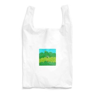 お茶畑くんアップ Reusable Bag