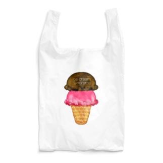 チョコレートラズベリーアイスクリーム Reusable Bag