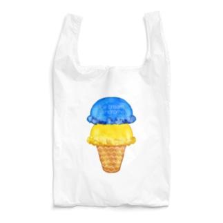 マンゴーソーダアイスクリーム Reusable Bag