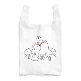 [BUNNNKO CAFE ] コザクラインコ Reusable Bag