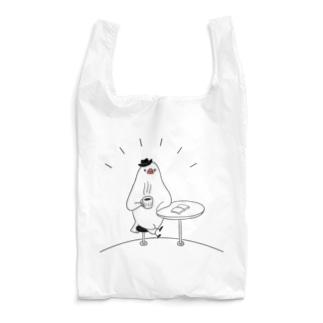 [BUNNNKO CAFE ] 文鳥 Reusable Bag