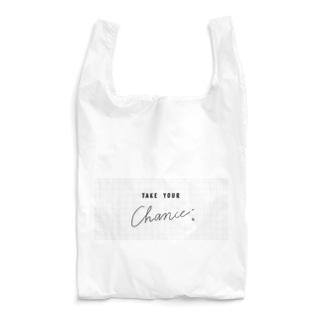 TYC方眼シンプルよこ Reusable Bag