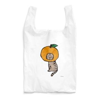 みかんかぶりねこ Reusable Bag
