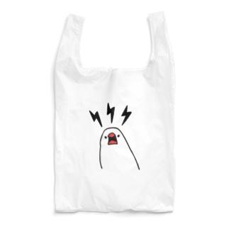 文鳥の怒り Reusable Bag