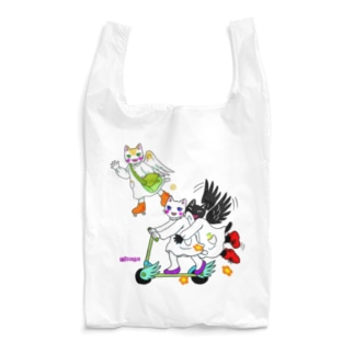 猫の天使 Reusable Bag