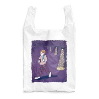 おかえり夜道 Reusable Bag